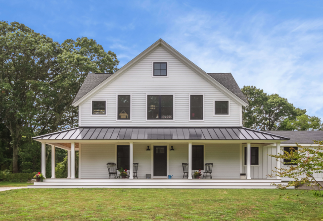 Award-Winning Jamestown RI Farmhouse