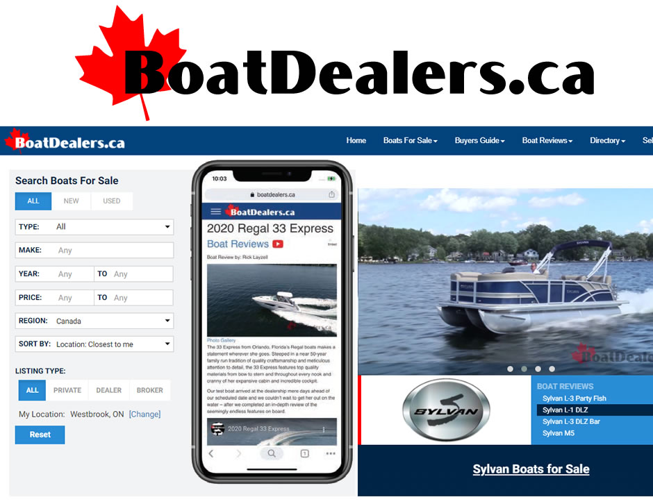 BoatDealers.ca Screenshot