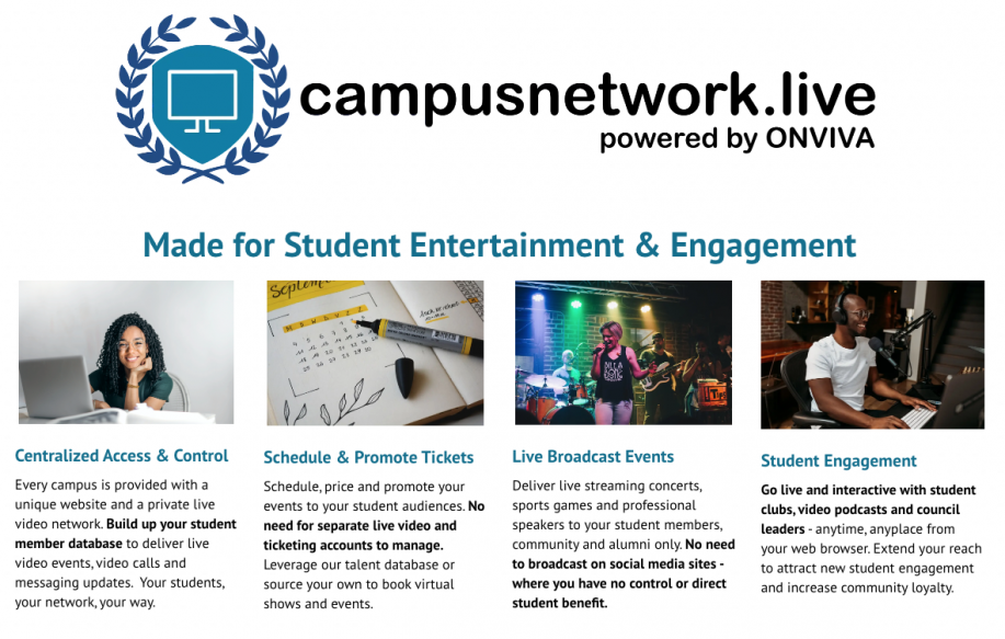 Campus Network Live Overview